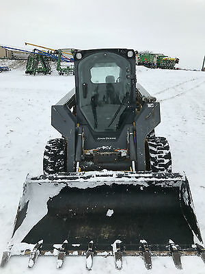 2014 John Deere 326E Skid Steer Skid Loader  #136797 with warranty