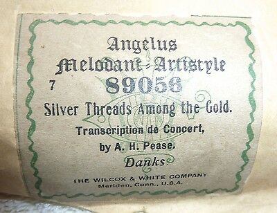 Silver Threads Among The Gold  Angelus Melodant-Artistyle  89056