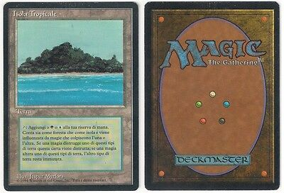 MTG Tropical Island (Isola Tropicale) - Italian Revised FBB - SLIGHTLY PLAYED