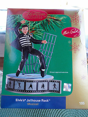 Elvis's Jailhouse Rock Heirloom Ornament Collection Musical Item - Not A Toy