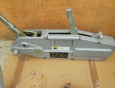 Turfor - Winch - 3-2 Ton - Yale Trac - Germany - Steel Rope Winch *** New ***