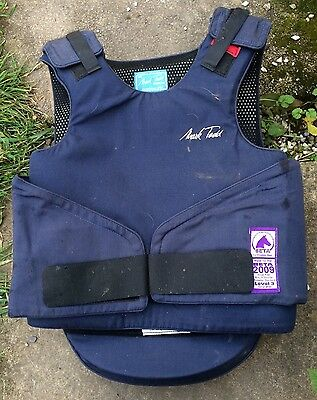 Mark Todd Child's Large Navy Body Protector