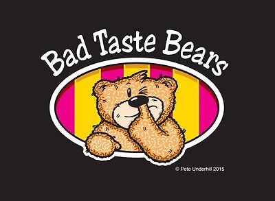 Bad Taste Bears Collection, Original Boxes And Some Rare And Special Editions