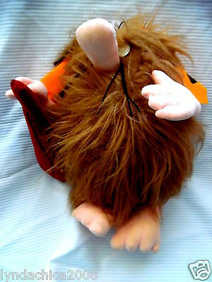 Vintage CAPTAIN CAVEMAN Plush Toy By Hanna Barbera! ***Licensed Merchandise!***
