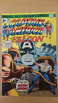 Marvel Comics Captain America  #179 1974 VG/FN first print