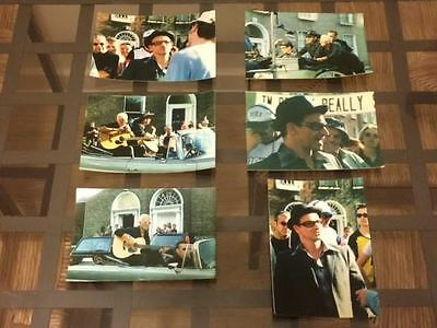 U2: Set of 6 original pictures from The Sweetest Thing photoshoot in Dublin 1998