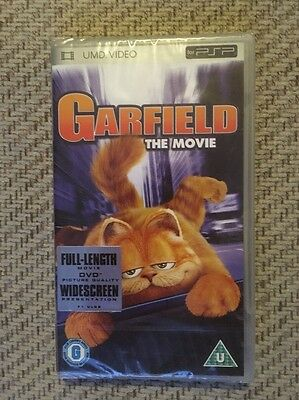 Garfield The Movie UMD Video PSP New And Sealed