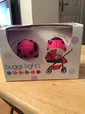 Brand New Ladybird Buggi Buggy Lights Pink Free Postage Batteries Included