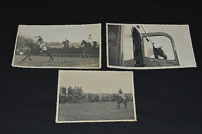 Vintage 1960s horse racing photographs Pontefract