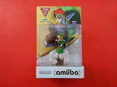 The Legend of Zelda 30th Year Ocarina of Time Link [Brand New & Sealed] (Amiibo)