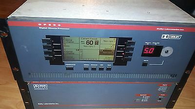 Cinema sound processor CP500 and SA10 and ms100 (rack no included)