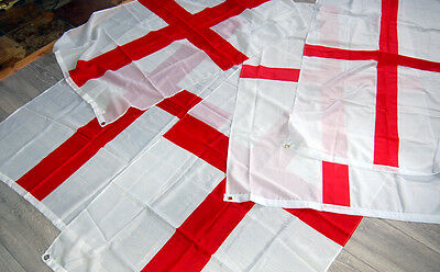 5 England Flags