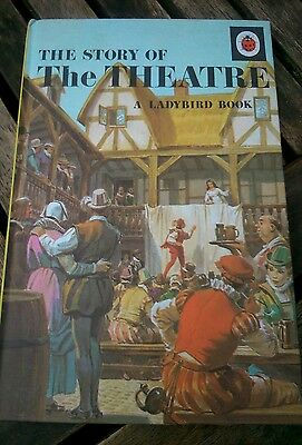 VINTAGE LADYBIRD BOOK SERIES 662 -The Story of The Theatre - VG Condition