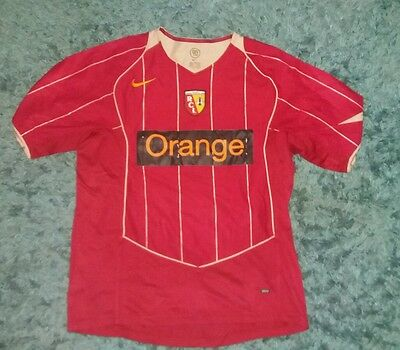 Vintage Racing Club De Lens Football Shirt