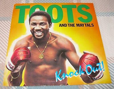 Toots And The Maytals - Knock Out ! - Scarce 1981 Vinyl Album