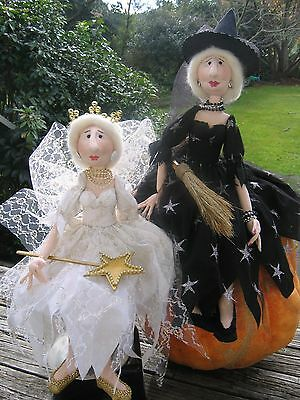 Cloth Doll Pattern - Miss Street - Wise Witch and Fairy Godmother