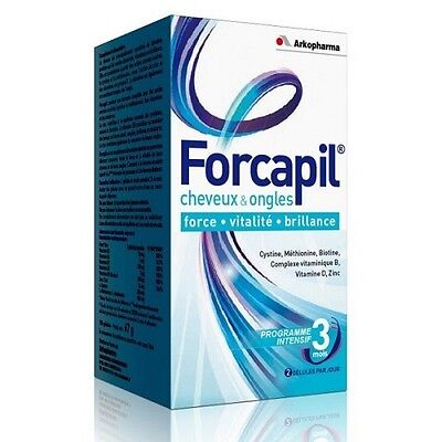 Forcapil 180 capsules Arkopharma for 3 - month supply hair and nails