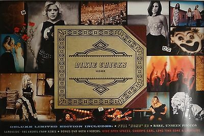 Dixie Chicks 24x36 Home Promo Music Poster 2002
