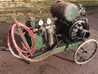 Villiers stationary engine with Sellarc air compressor