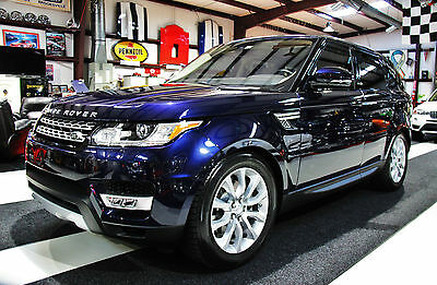 2016 Land Rover Range Rover Sport HSE Sport Utility 4-Door 2016 Range Rover Sport HSE Supercharged