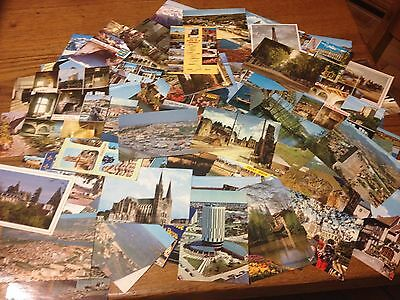 Lot De 90 Cartes Postales Couleurs France