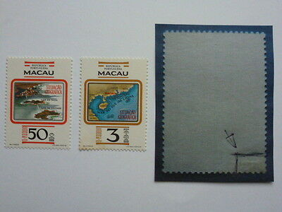 Lot 5263 Timbres Stamp Geographie Macao Macau Annee 1982