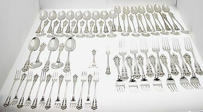 Medici By Gorham Sterling Silver Flatware Set 125 Pieces
