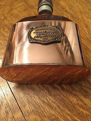 GEORGE DICKEL /Tennessee Whisky/Jack Daniels / Whiskey / Copper Decanter