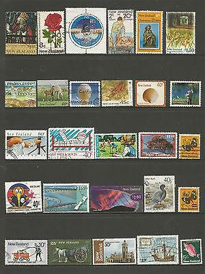 29 New Zealand Stamps used 1