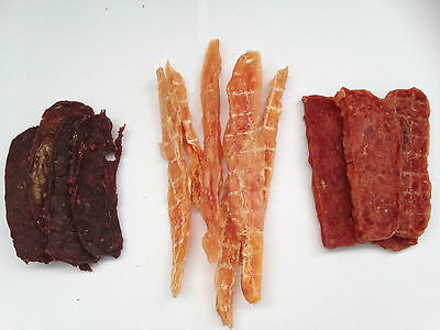 100% Natural Pure Meat Dog Treats Quality  Dried Meat Chews 150g Pack