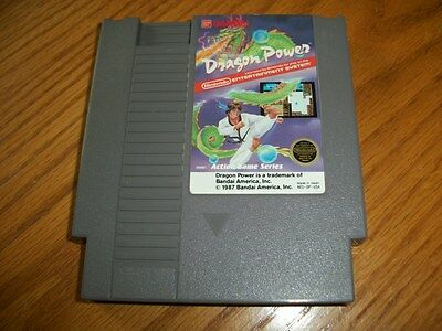 Dragon Power -- Nintendo Entertainment System NES -- Game Only