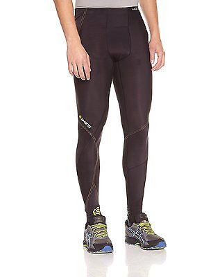 Skins A400 Long Collant de compression homme Noir XL Bike Cycles Course Cyclisme