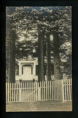 Maine ME Vintage real photo postcard RPPC Boothbay Harbor McDougall Keefe