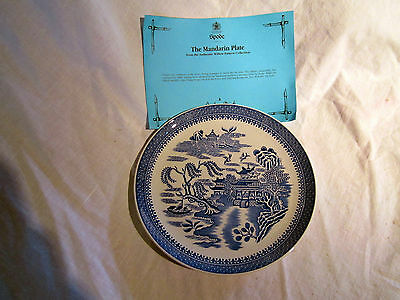 Spode The Mandarin  Plate - Willow Pattern