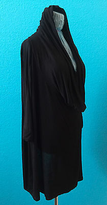Suzanne Somers 3 Way Poncho AS SEEN ON TV Can be worn three ways XL - 3X Black