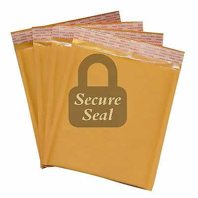 "250 #DVD 7.5x10 Kraft Bubble Mailers Self Seal Padded Envelopes 7.5"" x 10"" DVD"