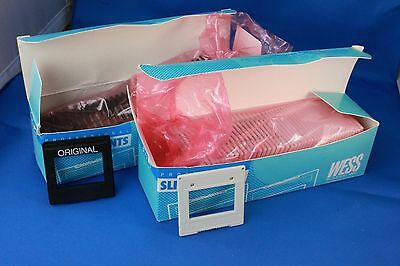 2 Partial Boxes Unused WESS 2x2 Slide Mounts - 79 Total Mounts