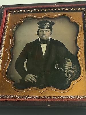 Daguerreotype Mexican American War Soldier & Civil War Soldier ? Ambrotype Group
