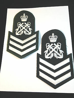 Canadian Navy Cadet *PETTY OFFICER 1st Class* RANK PATCHES (x2 Different )