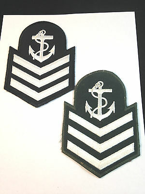 Canadian Navy Cadet *Master Seaman* RANK PATCHES (x2 Different )