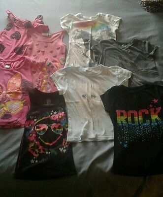 girls clothes lot 16 pieces size 7,7/8,8 summer FREE SHIPPING