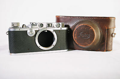 LEICA III-a Rangefinder 1936-1937 with case (serial #233862)
