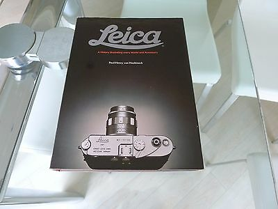 "Leica  ""A History Illustrating Every Model & Accessory"" P H Van Hasbroeck"
