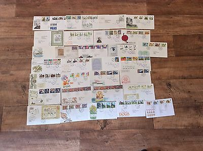 Large Collection of over 100 First day Covers Some Rare