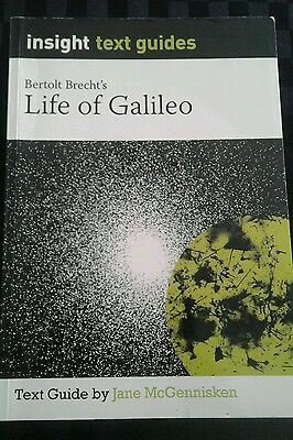 Life of Galileo - Insight Text / Study Guide for the novel by Bertolt Brecht