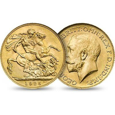 Great Britain Sovereign, 1925