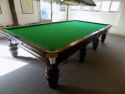 MADE IN WALES 1912 Welsh slate antique full size billiard table Stunning example