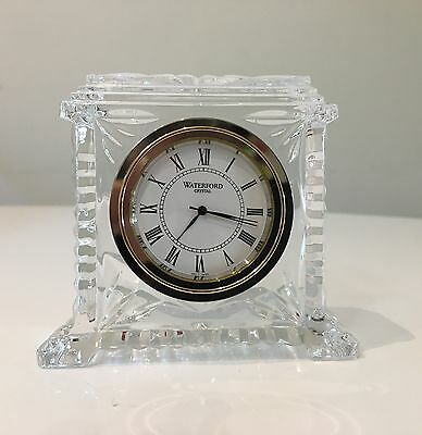 NIB Waterford Lead Crystal Pavilion Clock