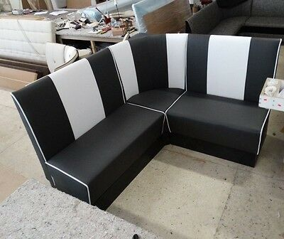 Bespoke American style 50's Restaurant/Kitchen Booth, Seating Banquette, Sofa,