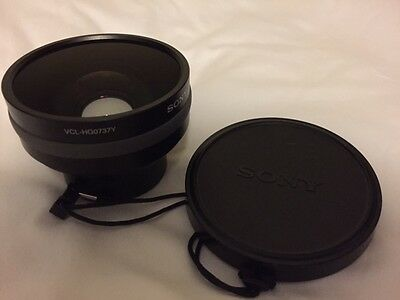 SONY VCL-HG0737Y WIDE ANGLE 0.7x HIGH GRADE CONVERSION LENS